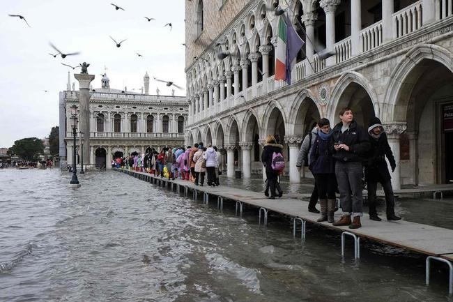 Italy hit by flooding