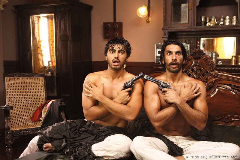 Arjun Kapoor and Ranveer Singh in Gunday