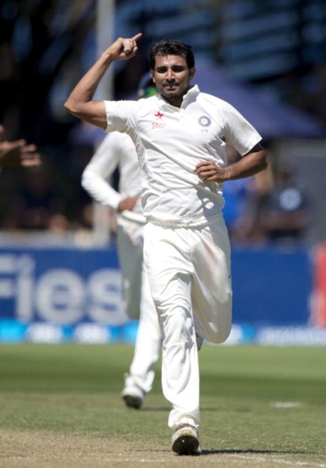Mohammed Shami - 10 wickets