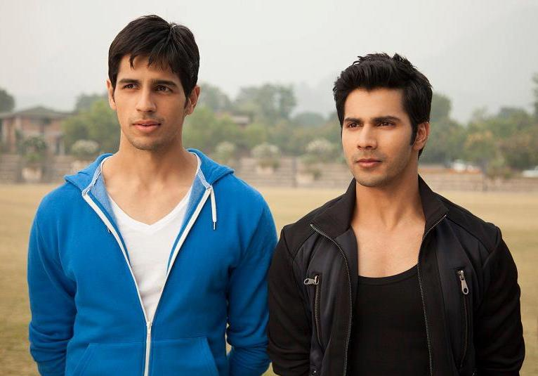 Sidharth Malhotra and Varun Dhawan in Student Of The Year