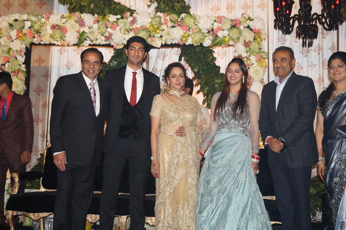 Praful Patel at Ahana Deol
