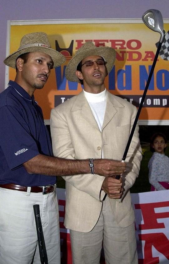 Jeev Milkha Singh and Hrithik Roshan