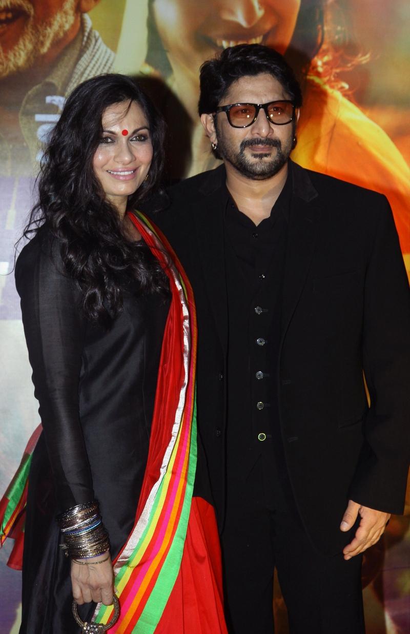 Arshad Warsi and Maria Goretti