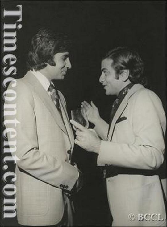 Jeetendra and Amitabh Bachchan