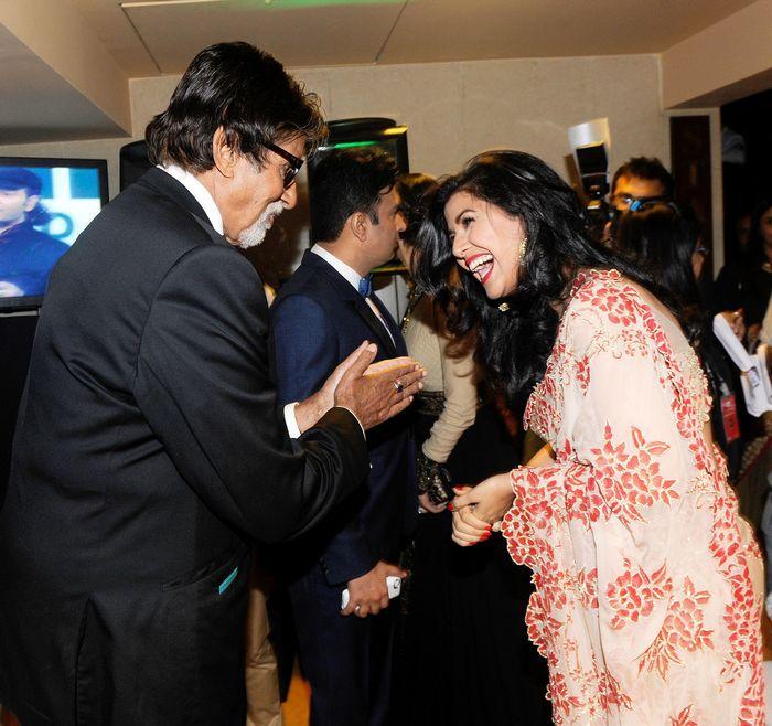 Amitabh Bachchan and Nargis Fakhri