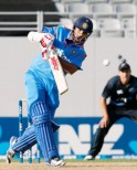 Shikhar Dhawan looked positive but fell for 28