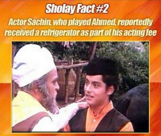 Sholay Fun Facts