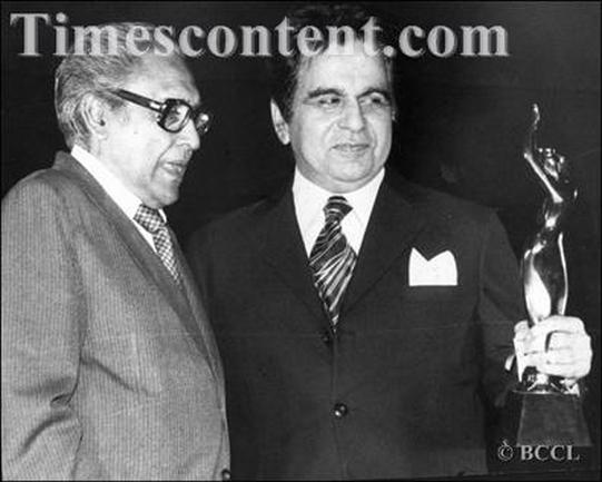 Dilip Kumar and Ashok Kumar