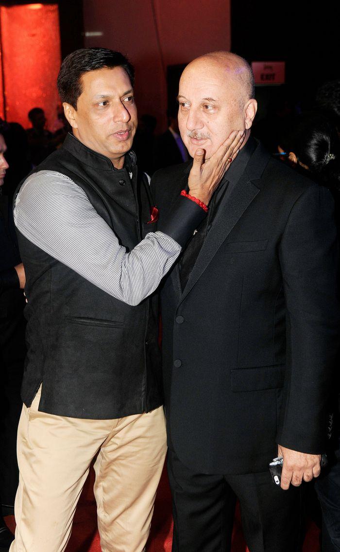 Madhur Bhandarkar and Anupam Kher