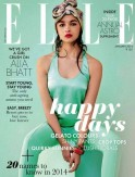 Alia Bhatt for Elle