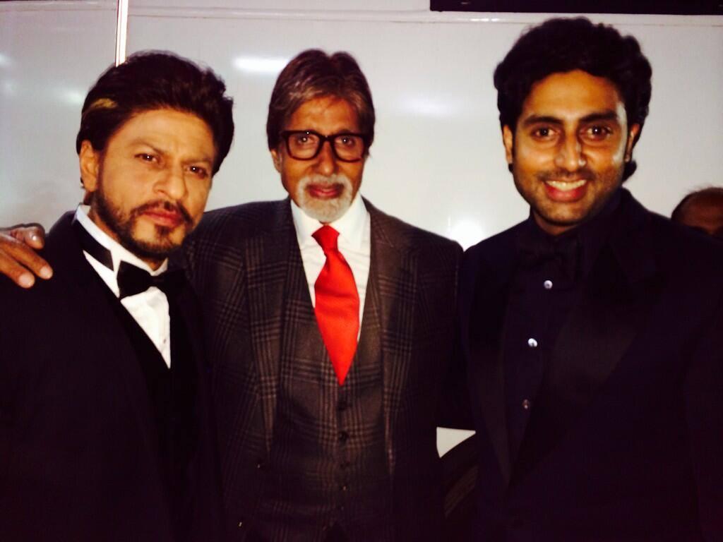 SRK, BIG B, ABHISHEK BACHCHAN