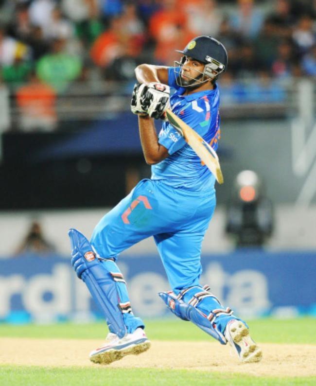 Ravichandran Ashwin got his maiden ODI half-century