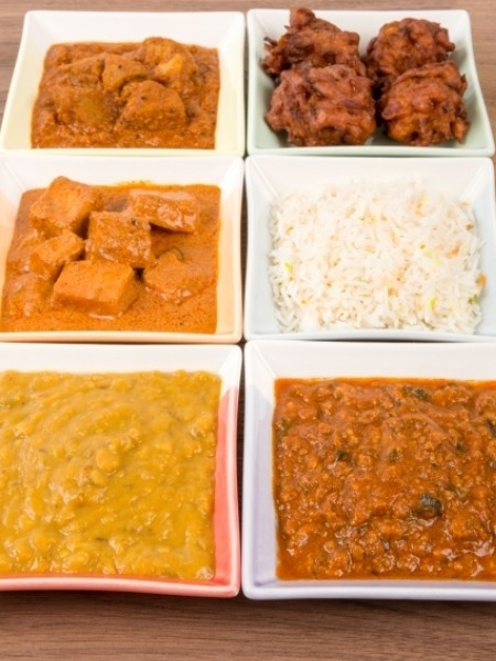 Indian Cuisine: Eating Healthy at a Restaurant Vegetables