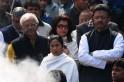 Mamata Banerjee at Suchitra Sen Funeral