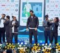 John Abraham at Mumbai Marathon 2014