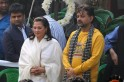 Moon Moon Sen Suchitra Sen Funeral