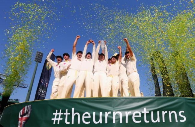 Australia with the Urn