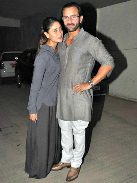 Saif Ali Khan & Kareena Kapoor