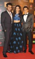 Ranveer Singh, Arjun Kapoor, Deepika Padukone