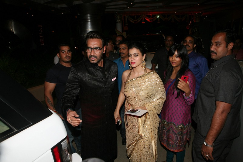 Kajol, Ajay at Amita Pathak and Raghav Sachar