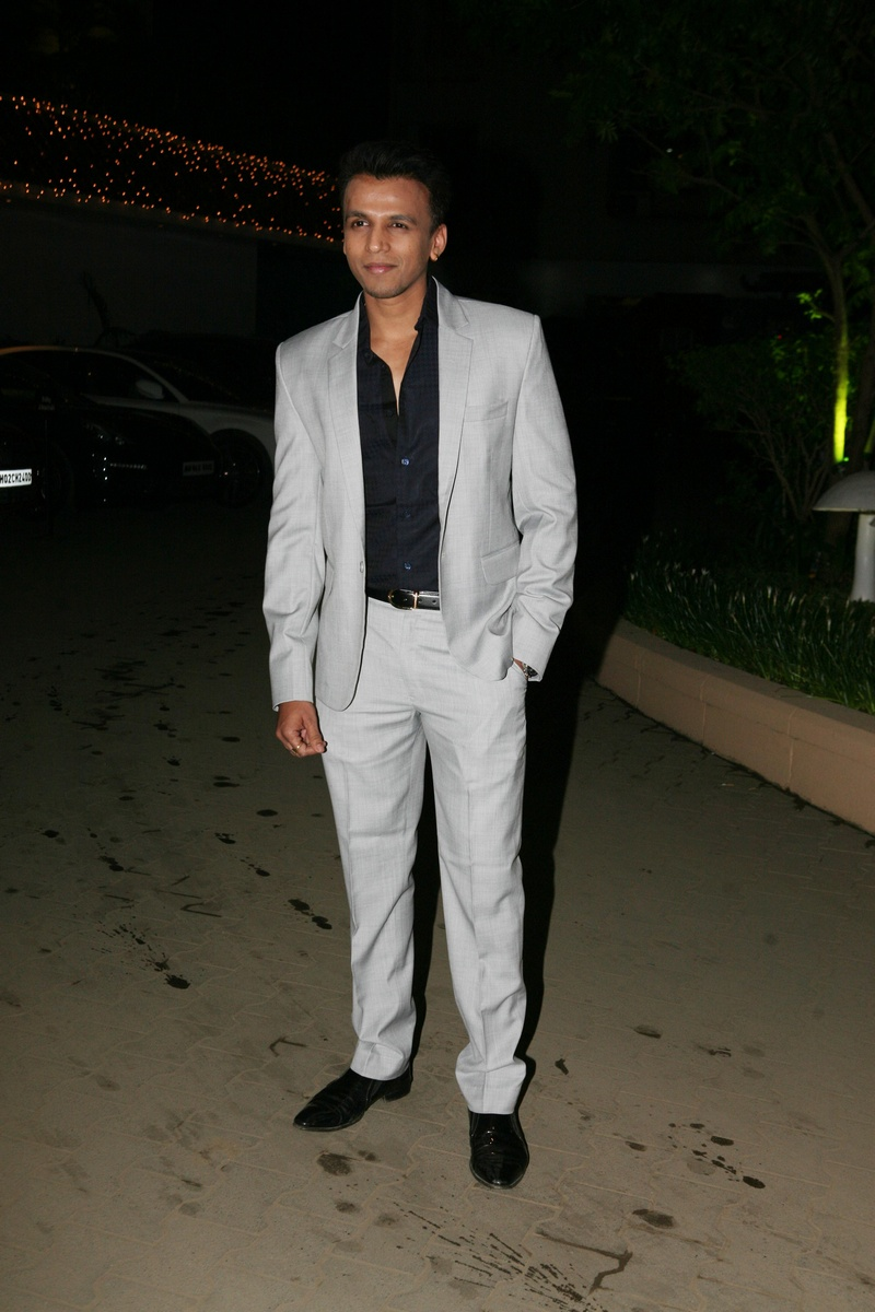 Abhijeet Sawant at Amita Pathak and Raghav Sachar