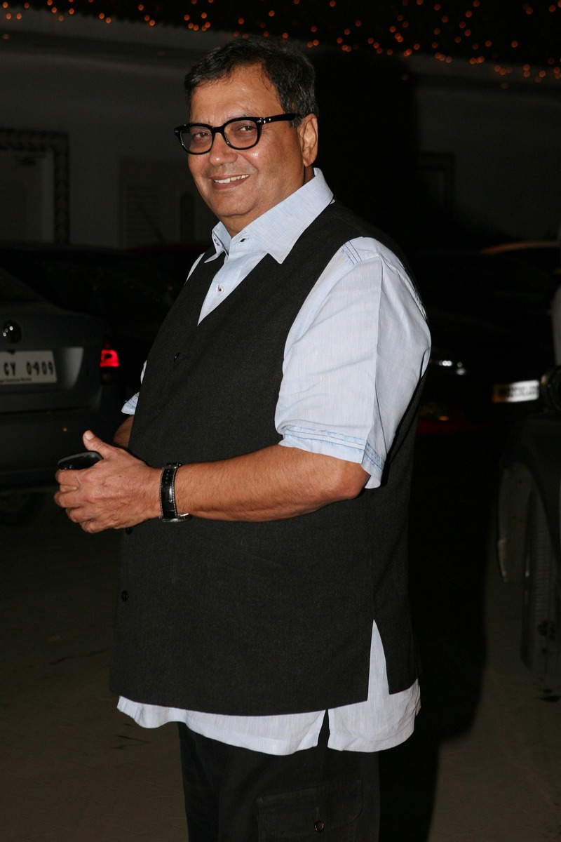 Subhash Ghai at Amita Pathak and Raghav Sachar