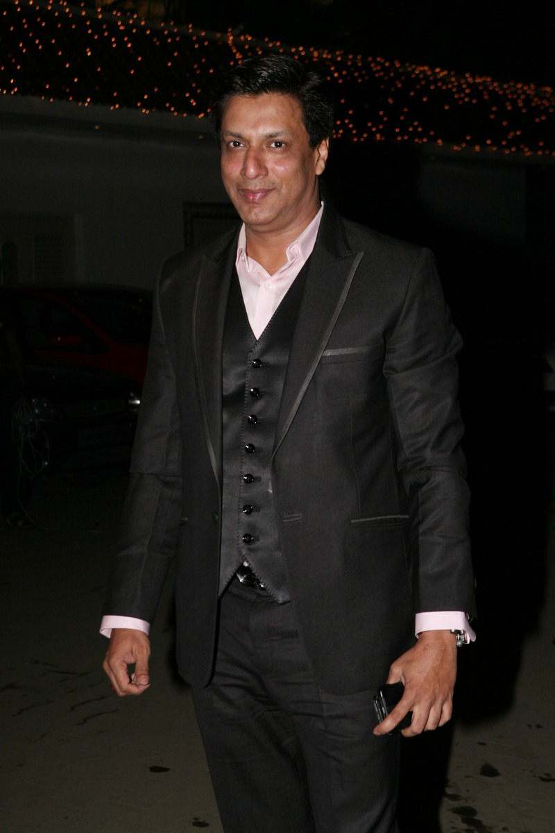 Madhur Bhandarkar at Amita Pathak and Raghav Sachar