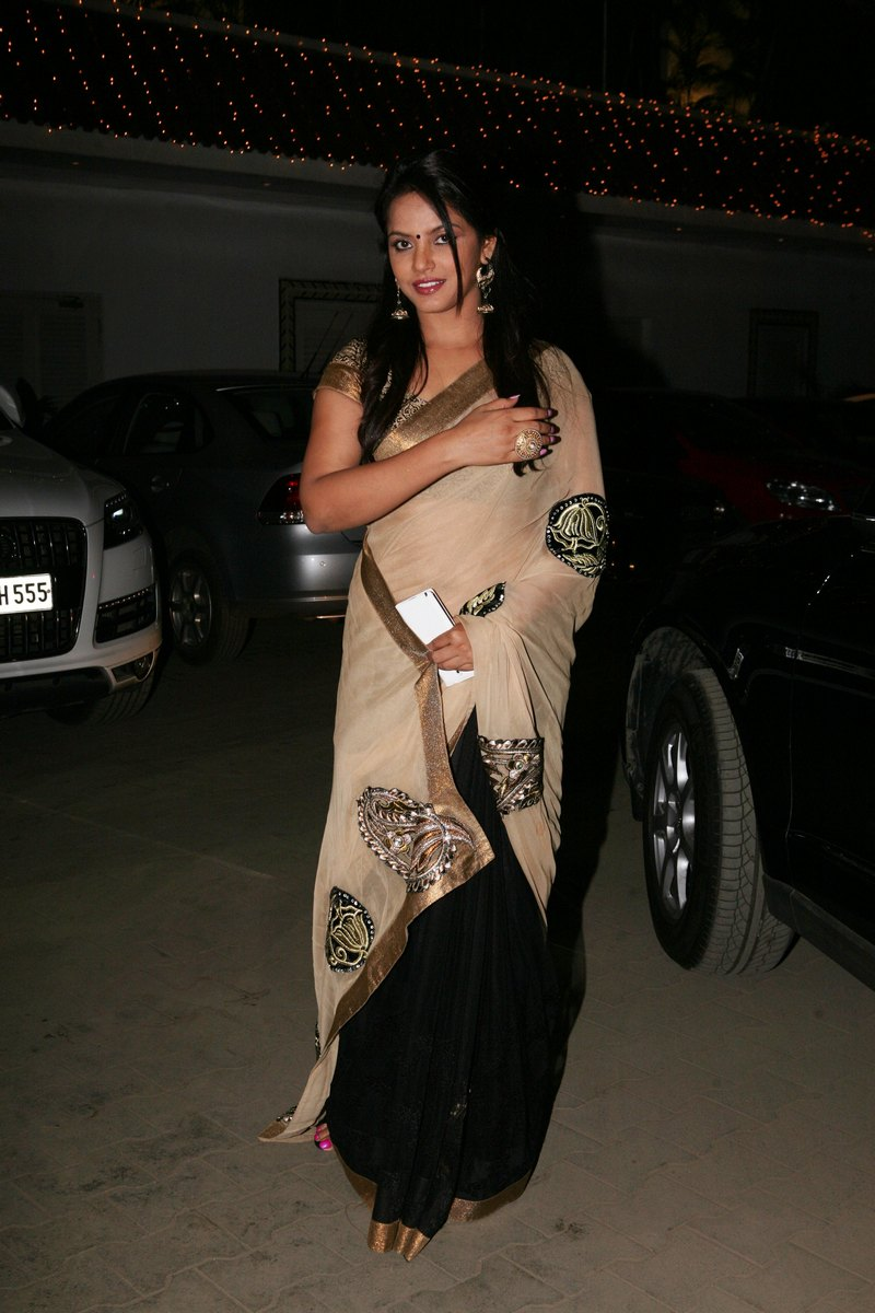 Neetu Chandra at Amita Pathak and Raghav Sachar
