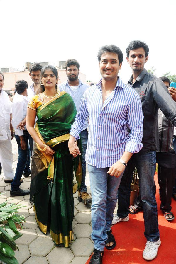 Uday Kiran and Vishitha