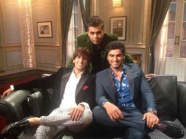 Arjun Kapoor and Ranveer Singh on Koffee With Karan
