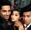 Alia Bhatt, Varun Dhawan, Siddharth Malhotra on Koffee With Karan