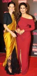 Kalki Koechlin and Huma Qureshi
