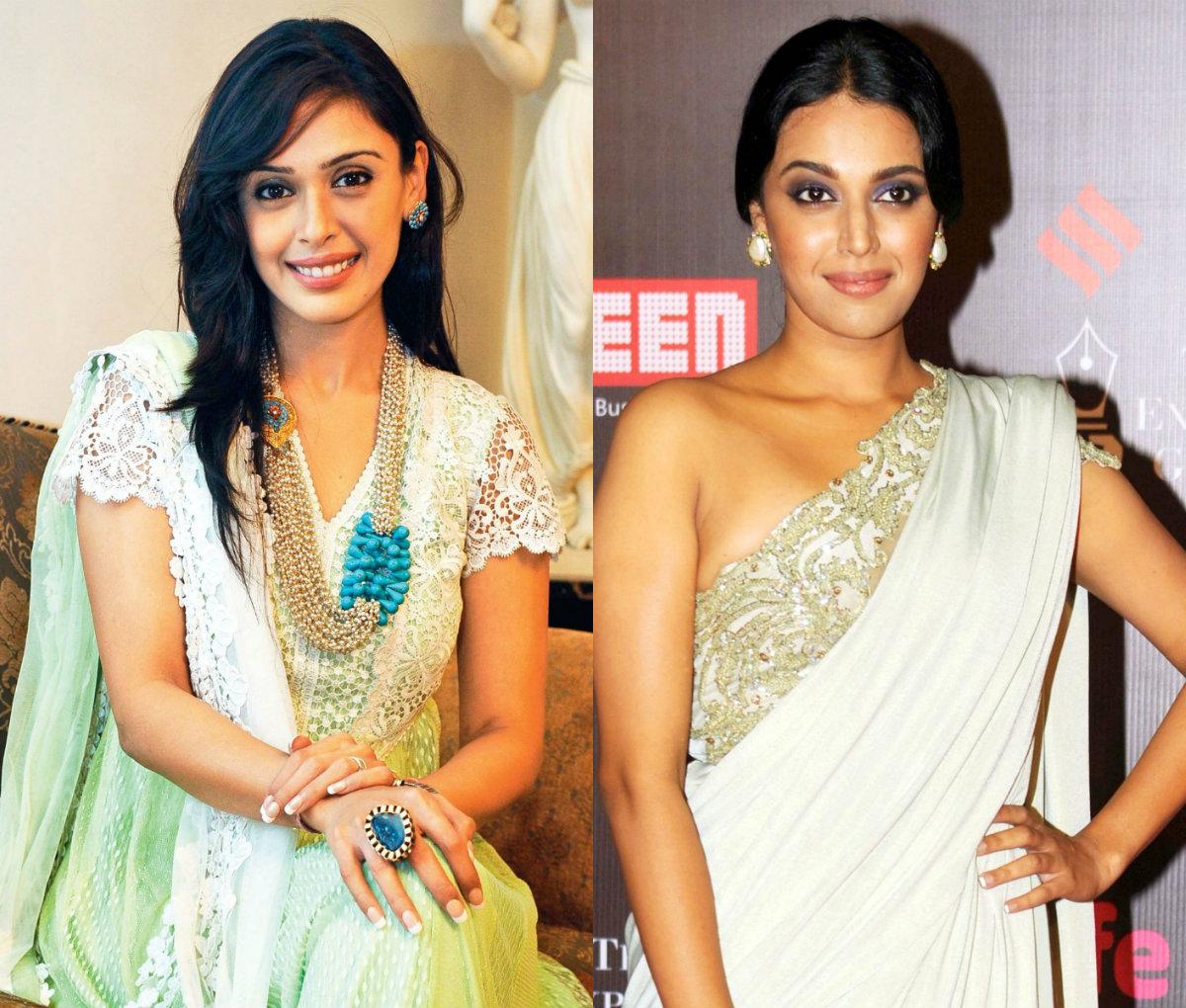 Hrishita Bhatt and Swara Bhaskar
