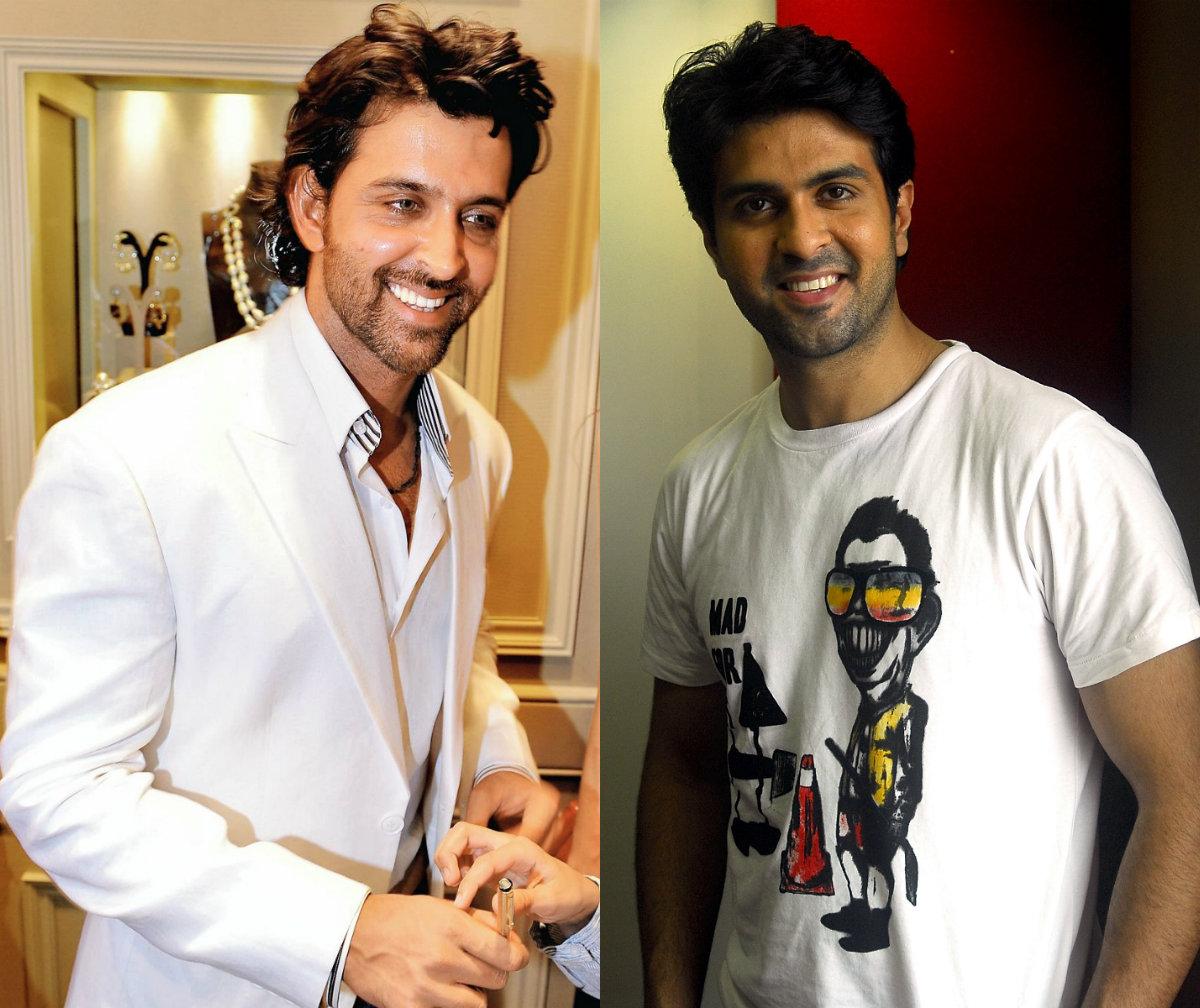 Hrithik Roshan and Harman Baweja