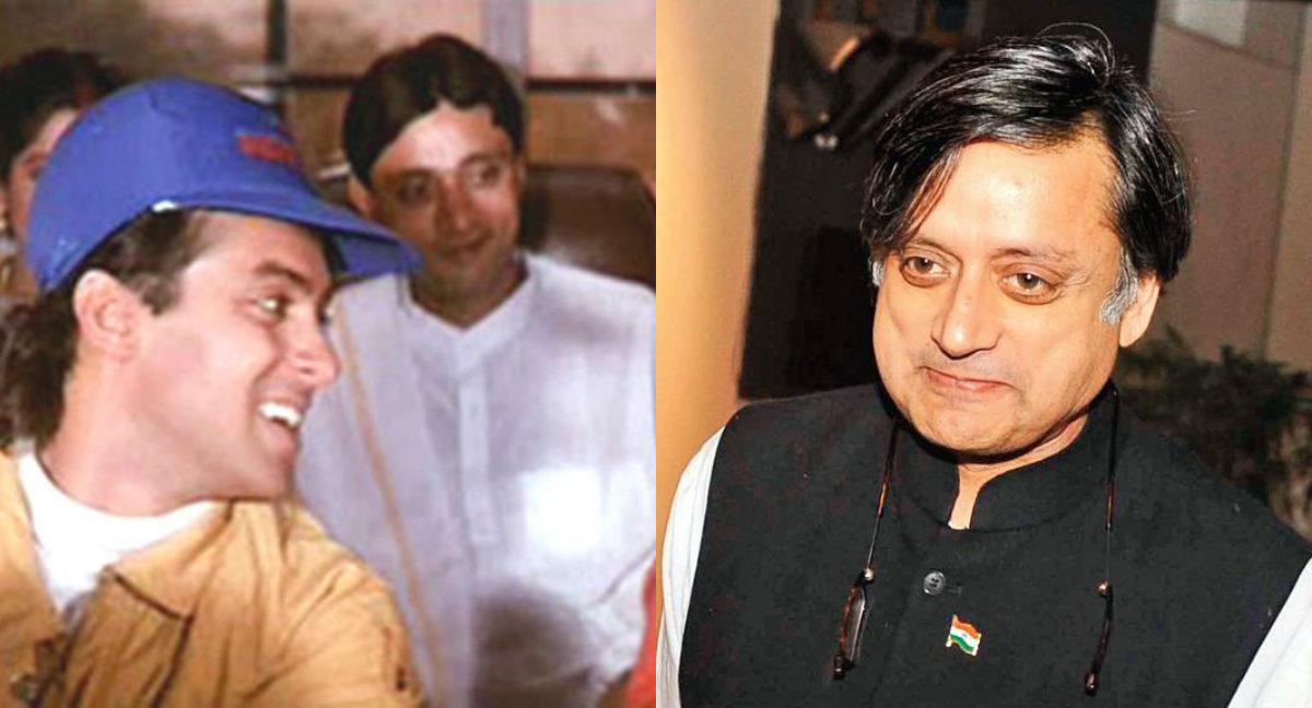 Andaz Apna Apna extra and Shashi Tharoor