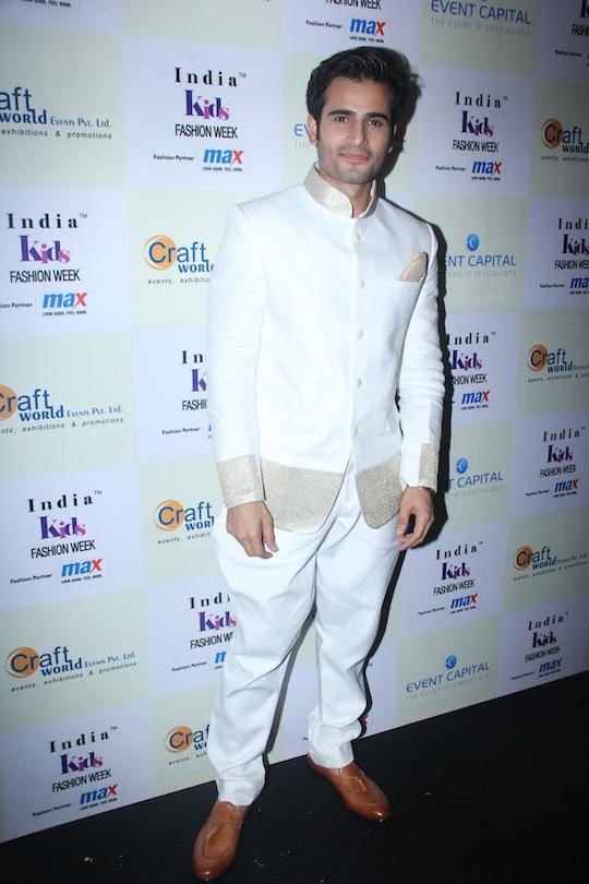 Karan Tacker at Day 2 of India Kids Fashion Week