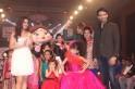 Shraddha Arya, Nandish Sandhu and Chutki from Chotta Bheem walking the ramp at Day 2 of India Kids Fashion Week