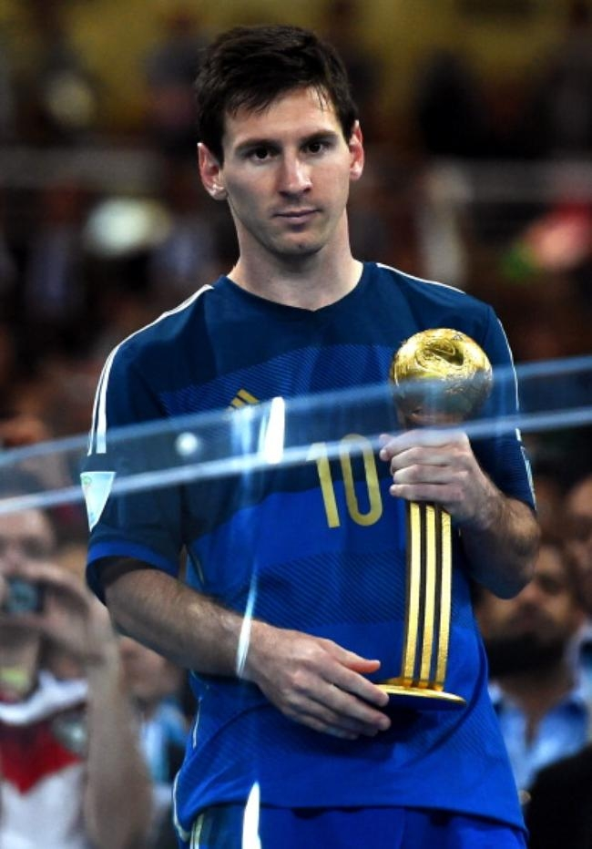 GOLDEN BALL: Lionel Messi