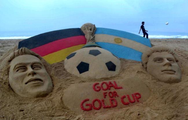 Indian Sand Sculpture