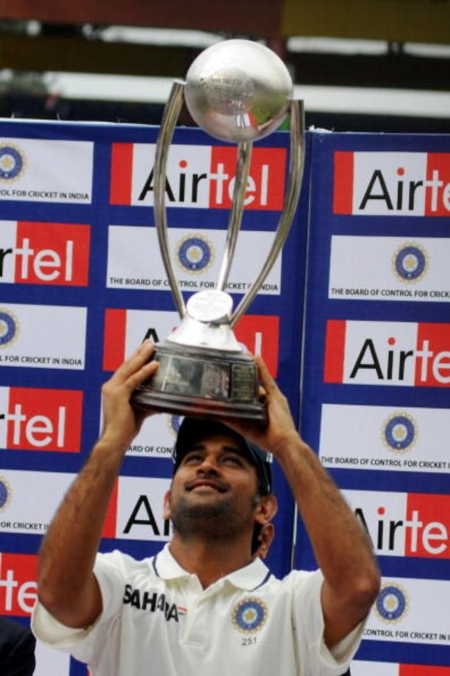 India v Australia - Second Test: Day Five