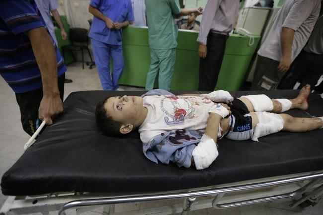Israel Pounds Gaza