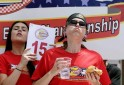 Burger Eating Contest