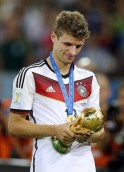 SILVER BOOT: Thomas Mueller (Germany)