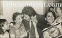 Sunil Gavaskar with his mother Meenal