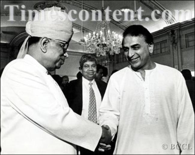 Sunil Gavaskar-Subir Kumar Choudhary