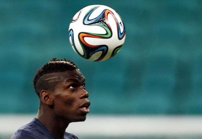 BEST YOUNG PLAYER: Paul Pogba (France)