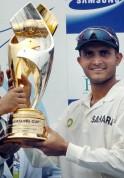 Indian cricket team captain Sourav Gangu