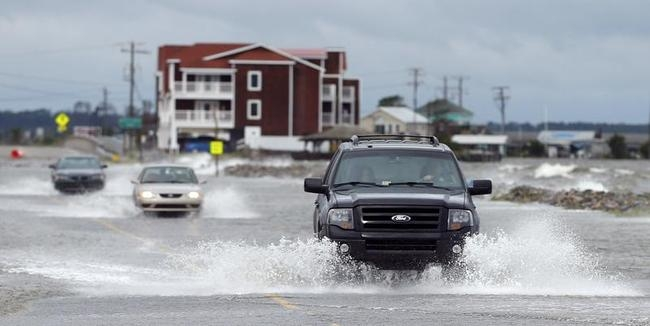 USA Braces for Hurricane Arthur: PICS
