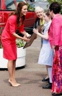 Duchess Kate Goes Back to School: PICS