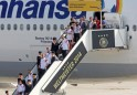 World Cup 2014 Winners Germany Arrive At Berlin Tegel Airport